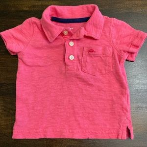 Carter's Pink Polo Shirt